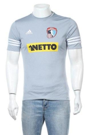 Ανδρικό t-shirt Adidas, Μέγεθος S, Χρώμα Μπλέ, Πολυεστέρας, Τιμή 12,34€