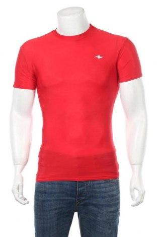 Ανδρικό t-shirt Athletic Works, Μέγεθος L, Χρώμα Κόκκινο, 81% πολυεστέρας, 19% ελαστάνη, Τιμή 5,55€