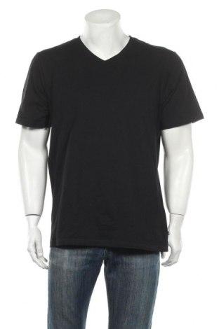 Мъжка тениска Bruno Banani, Размер XXL, Цвят Черен, 95% памук, 5% еластан, Цена 17,64лв.