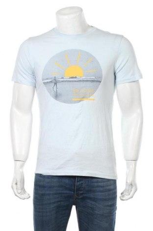 Мъжка тениска H&M L.O.G.G., Размер S, Цвят Син, Памук, Цена 12,60лв.