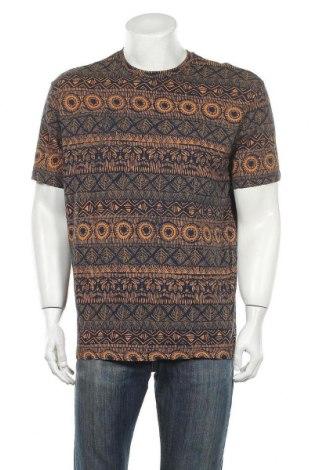 Мъжка тениска H&M L.O.G.G., Размер L, Цвят Многоцветен, 100% памук, Цена 14,28лв.