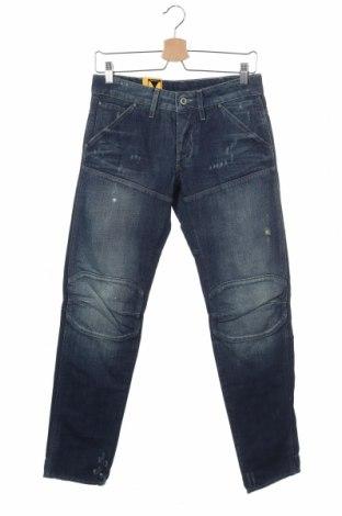 Мъжки дънки G-Star Raw, Размер S, Цвят Син, 65% памук, 35% лен, Цена 26,82лв.