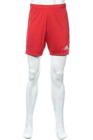 Ανδρικό κοντό παντελόνι Adidas, Μέγεθος S, Χρώμα Κόκκινο, 100% πολυεστέρας, Τιμή 30,54€