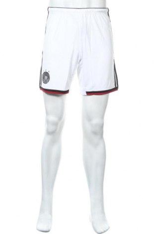Ανδρικό κοντό παντελόνι Adidas, Μέγεθος S, Χρώμα Λευκό, 100% πολυεστέρας, Τιμή 12,22€