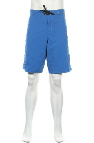 Мъжки къс панталон Hurley, Размер L, Цвят Син, 85% полиестер, 15% еластан, Цена 13,70лв.