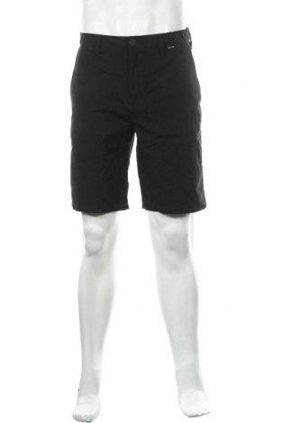 Мъжки къс панталон Hurley, Размер S, Цвят Черен, Полиестер, Цена 26,88лв.