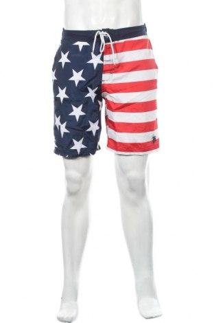 Мъжки къс панталон U.S. Polo Assn., Размер S, Цвят Многоцветен, Полиестер, Цена 24,99лв.