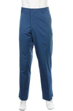 Ανδρικό παντελόνι Adidas, Μέγεθος L, Χρώμα Μπλέ, 100% πολυεστέρας, Τιμή 20,98€