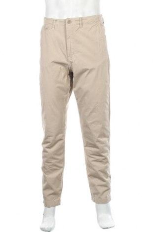 Мъжки панталон H&M L.O.G.G., Размер M, Цвят Бежов, Памук, Цена 6,24лв.