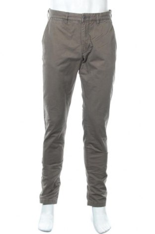 Мъжки панталон H&M L.O.G.G., Размер M, Цвят Кафяв, Памук, Цена 48,30лв.