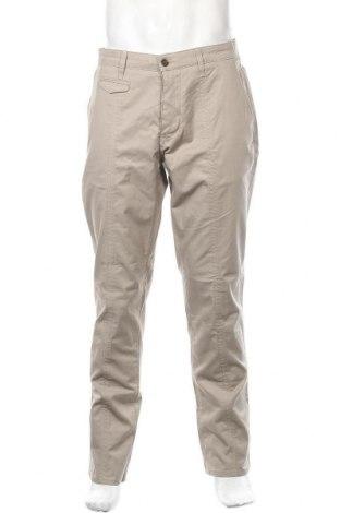 Ανδρικό παντελόνι Liu Jo, Μέγεθος XL, Χρώμα  Μπέζ, 97% βαμβάκι, 3% ελαστάνη, Τιμή 16,50€