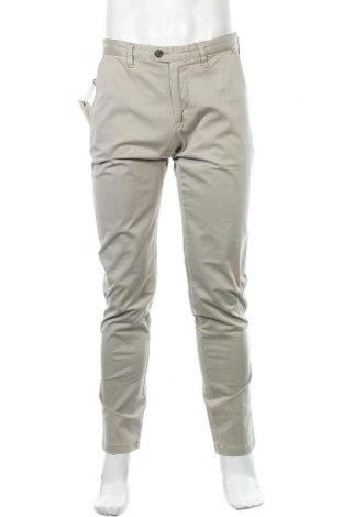 Pantaloni de bărbați Marville, Mărime M, Culoare Bej, 98% bumbac, 2% elastan, Preț 49,01 Lei