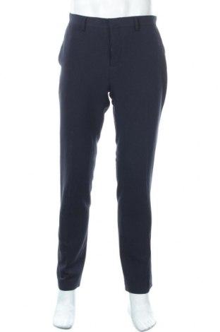 Ανδρικό παντελόνι Pier One, Μέγεθος M, Χρώμα Μπλέ, 75% πολυεστέρας, 20% βισκόζη, 5% ελαστάνη, Τιμή 15,20€