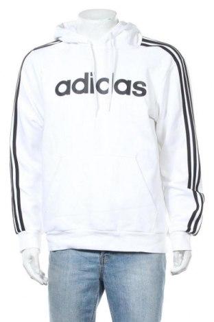 Ανδρικό φούτερ Adidas, Μέγεθος L, Χρώμα Λευκό, 70% βαμβάκι, 30% πολυεστέρας, Τιμή 33,19€