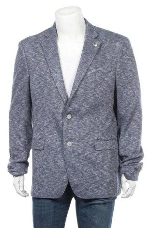 Мъжко сако Daniel Hechter, Размер XL, Цвят Син, 36% лен, 27% полиестер, 26% памук, 11% вискоза, Цена 48,96лв.