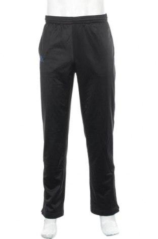 Ανδρικό αθλητικό παντελόνι Kappa, Μέγεθος M, Χρώμα Μαύρο, 100% πολυεστέρας, Τιμή 14,29€