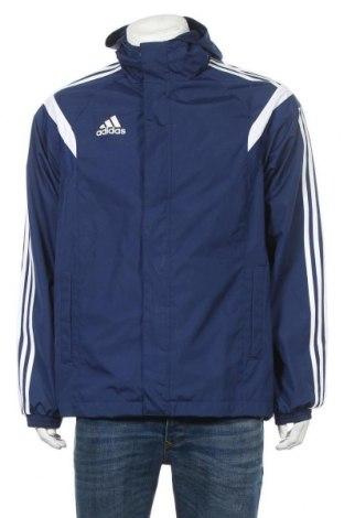 Ανδρικό αθλητικό μπουφάν Adidas, Μέγεθος M, Χρώμα Μπλέ, Τιμή 19,00€
