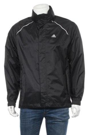Ανδρικό αθλητικό μπουφάν Adidas, Μέγεθος S, Χρώμα Μαύρο, Πολυαμίδη, Τιμή 11,17€