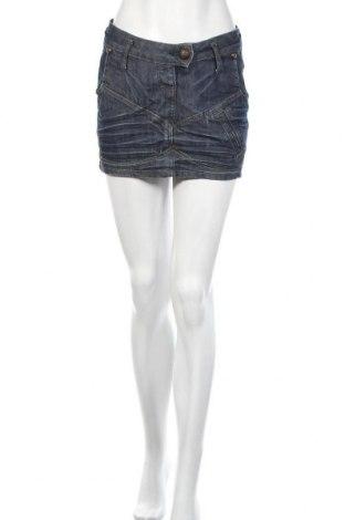 Φούστα Cars Jeans, Μέγεθος S, Χρώμα Μπλέ, 98% βαμβάκι, 2% ελαστάνη, Τιμή 5,68€