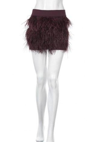 Φούστα Club Monaco, Μέγεθος XS, Χρώμα Βιολετί, Πολυεστέρας, φυσικά φτερά, Τιμή 14,78€