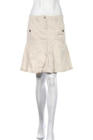 Пола Esprit, Размер S, Цвят Бежов, 55% лен, 45% памук, Цена 4,48лв.
