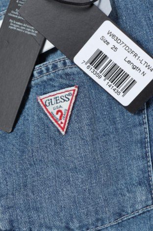 Fustă Guess, Mărime XS, Culoare Albastru, Bumbac, Preț 318,26 Lei