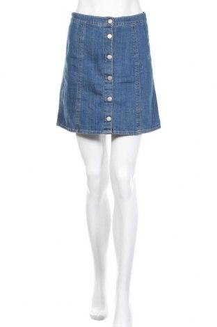 Пола H&M, Размер S, Цвят Син, 99% памук, 1% еластан, Цена 18,75лв.