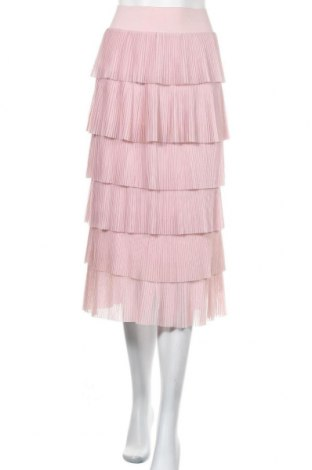 Пола H&M, Размер XS, Цвят Розов, Полиестер, Цена 16,96лв.