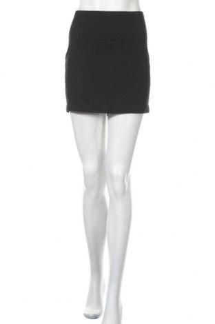 Пола H&M, Размер M, Цвят Черен, 95% памук, 5% еластан, Цена 4,41лв.