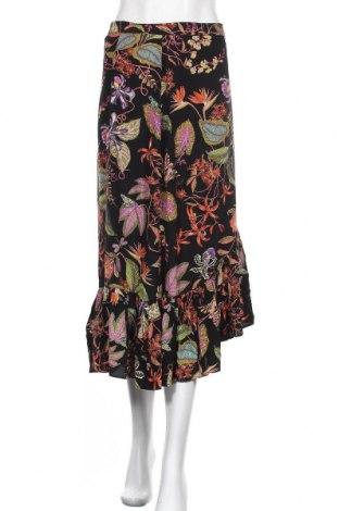 Пола H&M, Размер XL, Цвят Многоцветен, Вискоза, Цена 16,80лв.