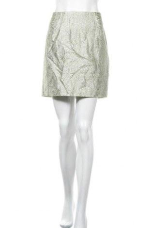 Пола H&M, Размер M, Цвят Сребрист, 76% памук, 10% полиестер, 8% метални нишки, 6% полиамид, Цена 4,52лв.