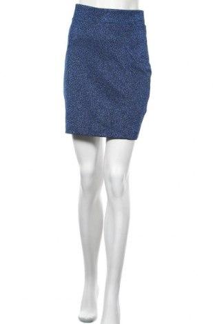 Пола H&M, Размер M, Цвят Син, 61% полиестер, 20% метални нишки, 19% полиамид, Цена 17,96лв.