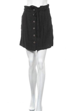 Пола H&M L.O.G.G., Размер S, Цвят Черен, 55% лен, 45% вискоза, Цена 5,36лв.