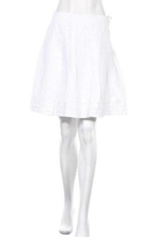 Пола H&M L.O.G.G., Размер S, Цвят Бял, Цена 11,76лв.