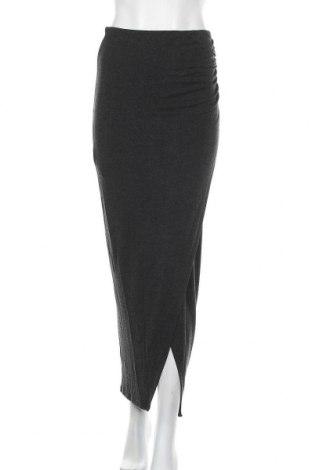 Φούστα Just Female, Μέγεθος M, Χρώμα Γκρί, 75% βισκόζη, 20%ακρυλικό, 5% ελαστάνη, Τιμή 8,87€