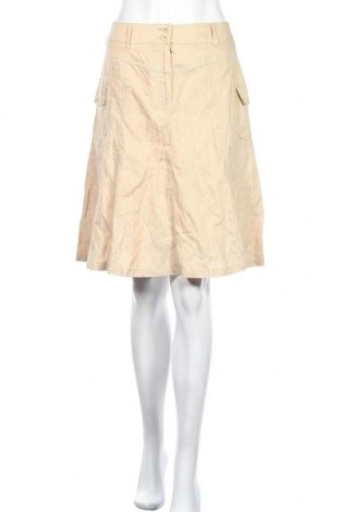 Пола Laura Lebek, Размер S, Цвят Бежов, 71% памук, 25% полиестер, 4% метални нишки, Цена 4,46лв.