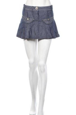 Пола Miss Sixty, Размер XS, Цвят Син, 55% памук, 45% лен, Цена 7,14лв.