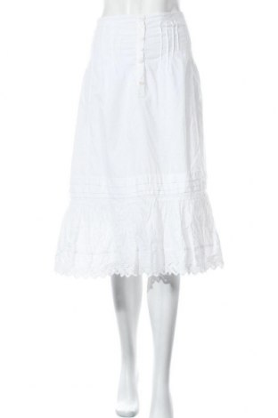 Φούστα Noa Noa, Μέγεθος M, Χρώμα Λευκό, Βαμβάκι, Τιμή 22,21€