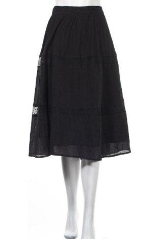 Φούστα Noa Noa, Μέγεθος L, Χρώμα Μαύρο, Βαμβάκι, Τιμή 32,15€
