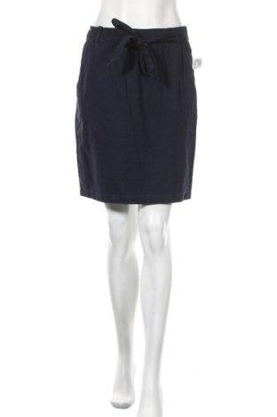 Пола Orsay, Размер S, Цвят Син, 55% лен, 45% памук, Цена 34,81лв.
