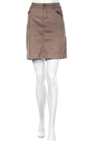Φούστα Soya Concept, Μέγεθος M, Χρώμα Καφέ, 64% βαμβάκι, 32% πολυεστέρας, 4% ελαστάνη, Τιμή 12,70€