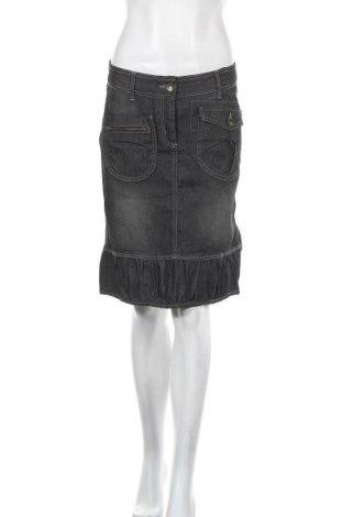 Φούστα Soya Concept, Μέγεθος S, Χρώμα Γκρί, 75% βαμβάκι, 25% πολυεστέρας, Τιμή 11,69€