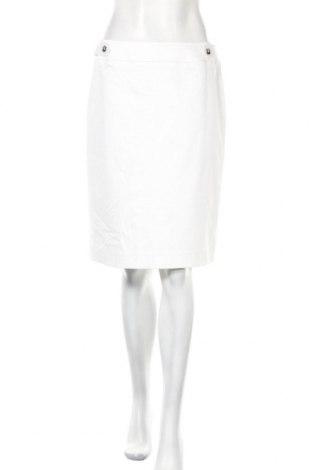 Φούστα Tahari By Arthur S. Levine, Μέγεθος M, Χρώμα Λευκό, 63% βαμβάκι, 34% πολυεστέρας, 3% ελαστάνη, Τιμή 35,46€