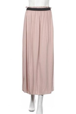 Пола Vero Moda, Размер M, Цвят Розов, Вискоза, Цена 20,95лв.