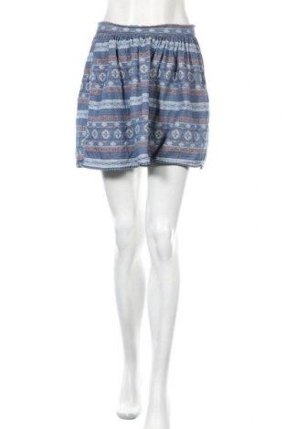 Пола Vero Moda, Размер XS, Цвят Син, 100% памук, Цена 4,24лв.