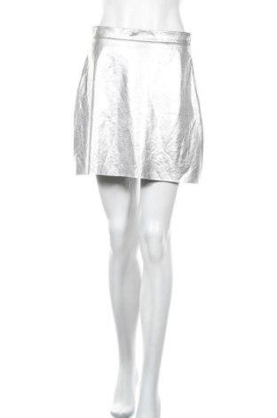 Пола Vero Moda, Размер M, Цвят Сив, Цена 3,80лв.