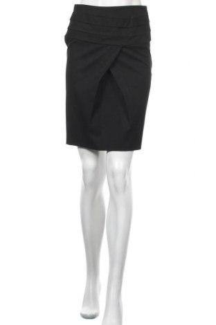 Пола Zara, Размер XS, Цвят Черен, 71% полиестер, 24% вискоза, 5% еластан, Цена 21,00лв.