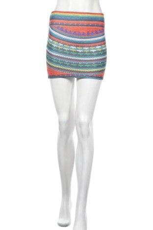 Пола Zara Trafaluc, Размер S, Цвят Многоцветен, 96% полиестер, 4% еластан, Цена 5,46лв.