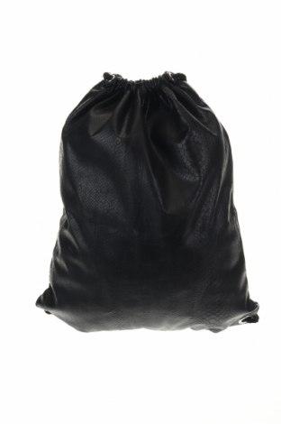Раница H&M Divided, Цвят Черен, Еко кожа, Цена 18,48лв.