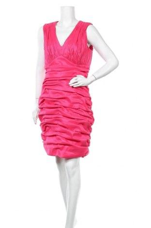 Рокля Calvin Klein, Размер XL, Цвят Розов, 61% полиестер, 35% полиамид, 4% еластан, Цена 20,48лв.